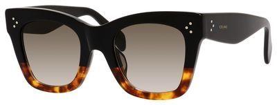 Celine CE 41098F Sunglasses 0FU5 Black Tortoise Havana