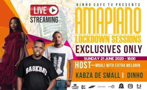 Kabza De Small Amapiano Lockdown Session In 2020 Session Songs News Songs