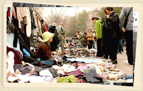 Chợ trời ngày thứ bẩy ở Seocho Ảnh: visitkorea.org