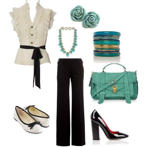 Summer dress attire business