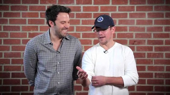 Pin for Later: 14 Times Matt Damon Proved He's Absolutely Hilarious When He Made a Hilarious Charity Video With Ben