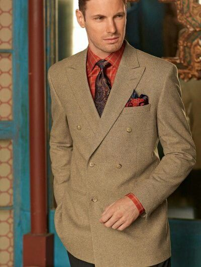 Paisley tie sports jackets and deep blue on pinterest for Sport coat with t shirt