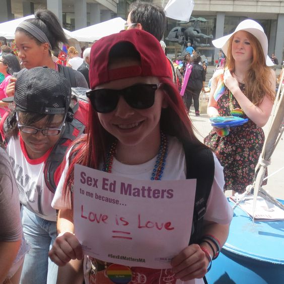 Love is Love, no matter what. Sex Ed Matters, no matter what. #LGBT #Equality #sexed #pride