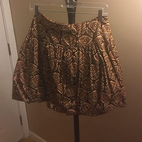 Brown skirt Brown skirt perfect condition Skirts Mini