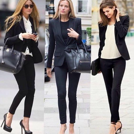 #workwear #look #fashion #monday #asilovecamila Tres estilos para ir al trabajo. Me encantan!