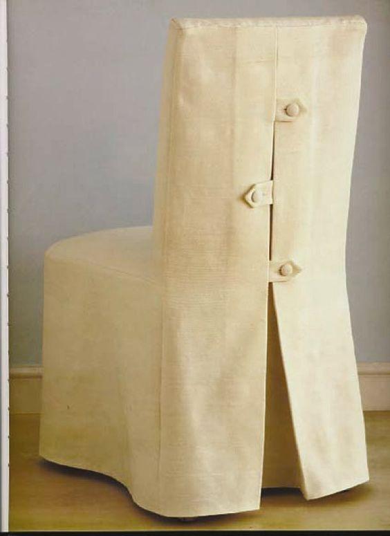 Cómo hacer fundas para sillas. Tutorial.: