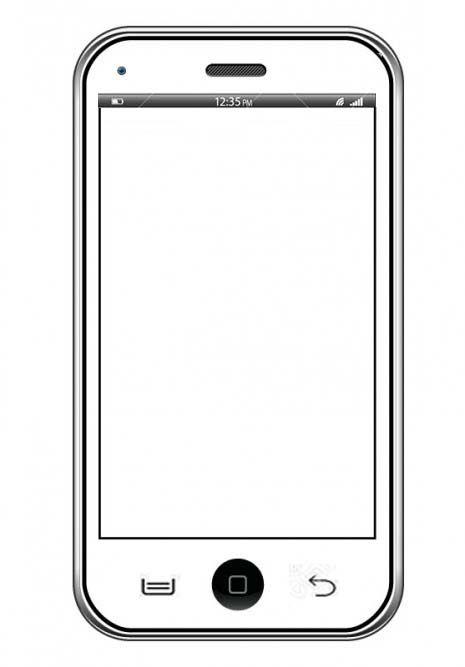 Plantilla Telefono Movil Dibujos De Telefonos Telefono Dibujo Celulares Dibujo