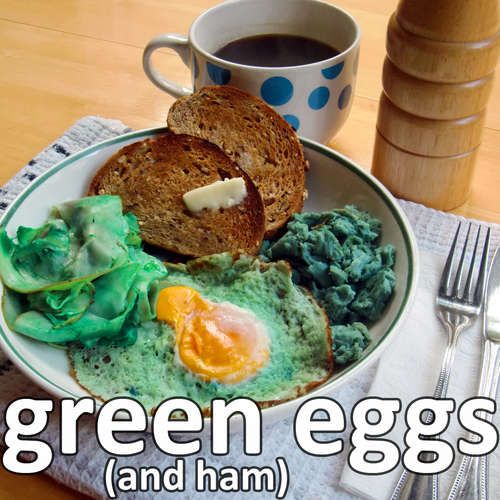 real green eggs (and ham) | What's the, Cabbages and Purple