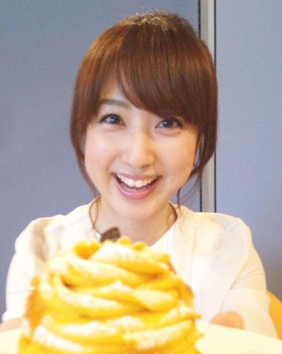 川田裕美アナウンサーのケーキ