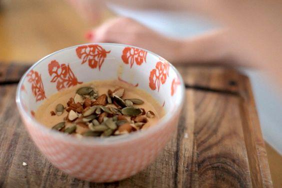 This No-Cook Breakfast Puts A Seasonal Twist on Chia Seeds