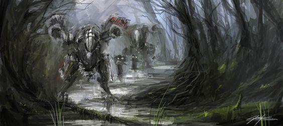 StarCraft Terran Goliath