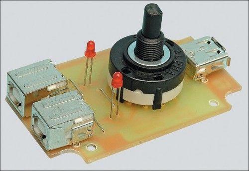 The Circuit Usb Printer Share Switch Circuit Diagram Project Usb Printer Circuit