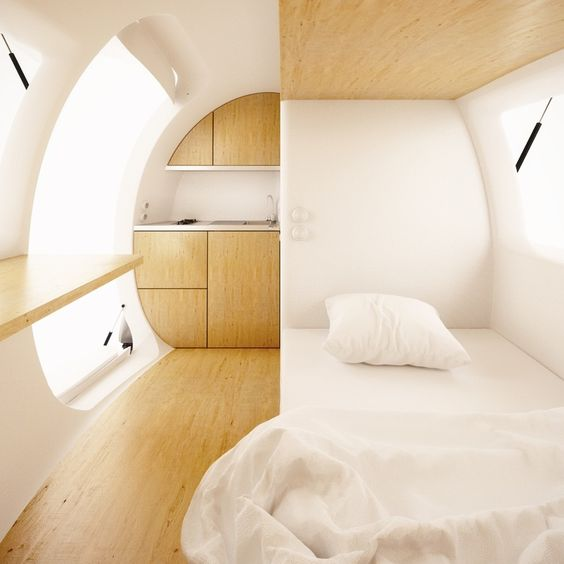 Ecocapsule by Nice Architects.
