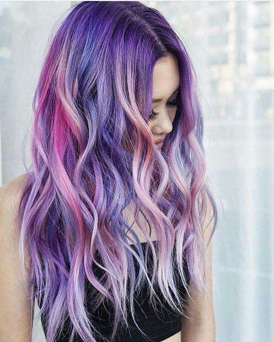 Haarfarben trends bunt