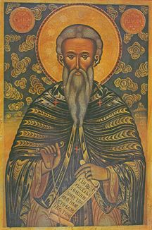St. John of Rila (Bulgarian, Circa 18th-19th c.) - S353