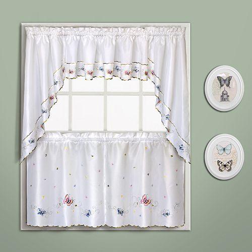 Curtains Curtain Decor Kitchen, Patterned Kitchen Curtains