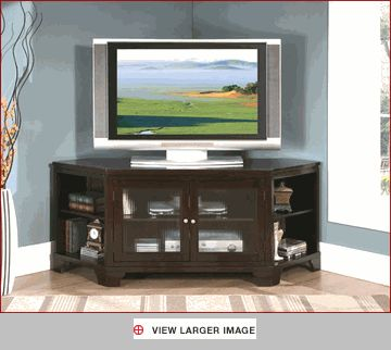 want a entertainment center that will fit in corner, but would pry want to wall mount the TV... like this one for all of the shelves it has