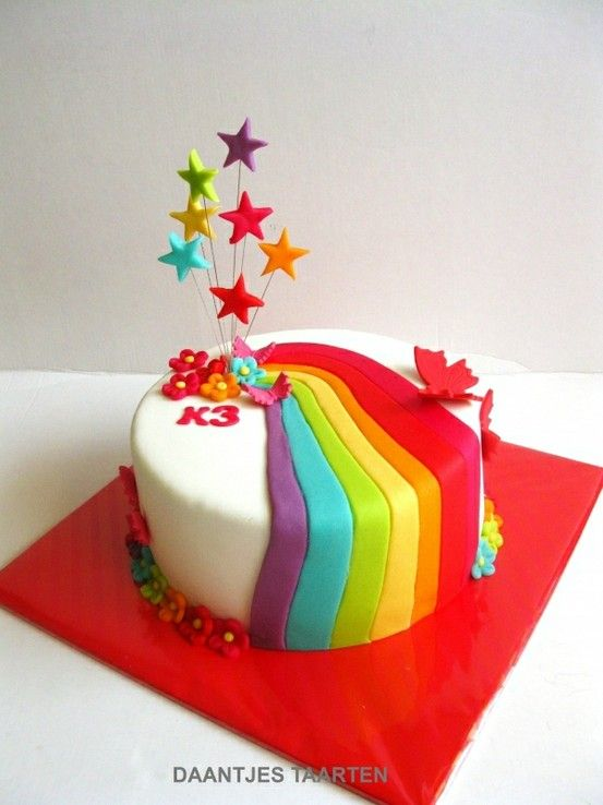 Rainbow cakes #ASIANPAINTS