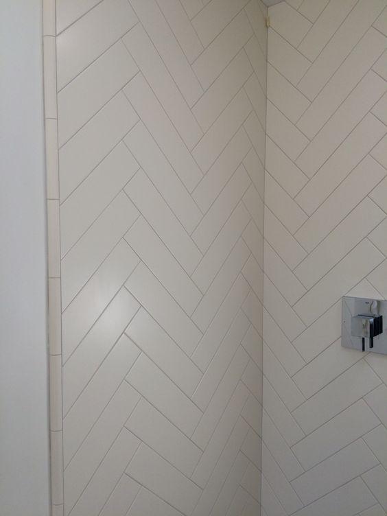 White Tiles Herringbone And The O Jays On Pinterest