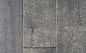 """Boca Birch 5"""" or 7"""" Planks, Shoreline Beach: 25 year finish and lifetime structural warranty/ 1/2"""" x 5"""" (or 7"""") x random lengths (18""""-48"""")/ Hand-scraped, semi-gloss finish/ Anti-scratch finish with Aluminum Oxide/ Micro-beveled ends and edges/ 2mm Wear Layer/ Installation options: above or on grade; glue, nail, or floating"""