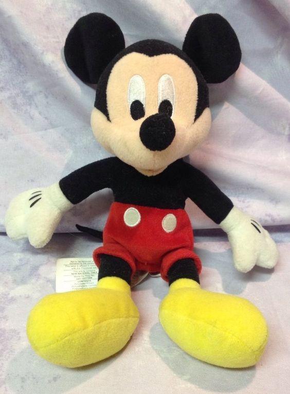 Mickey Mouse 9 Quot Plush Stuffed Animal Doll Toy Kids Disney