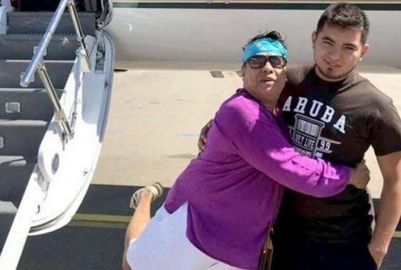 Graban en México a la última pareja de Juan Gabriel, quien posiblemente se encontraba con él durante su muerte