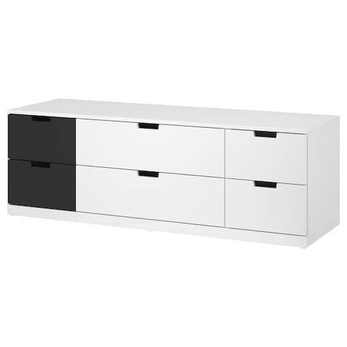 Diy Ikea Hack Plattform Bett Selber Bauen Aus Ikea Kommoden Werbung Schubladen Nordli Ikea Kommode