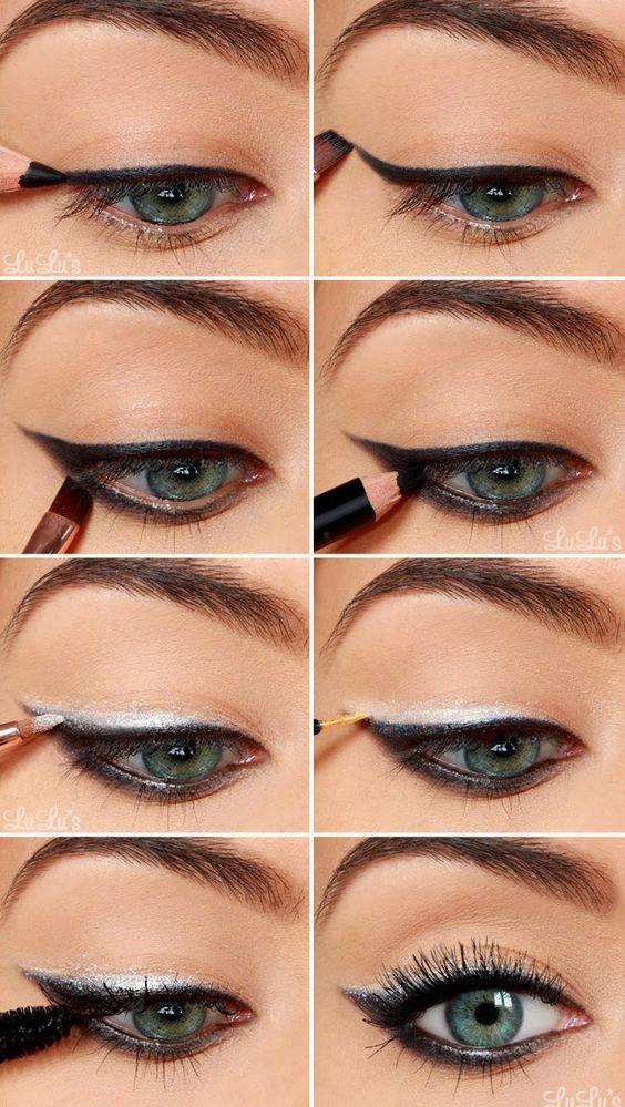New Year's Eve Eyeshadow Tutorial