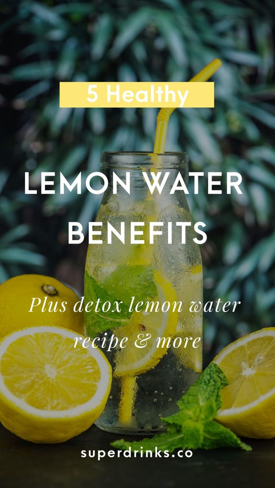 Lemon water benefits 68198