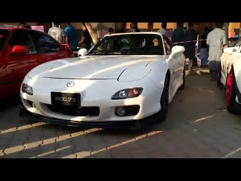 Mazda Rx 7 Modified Car Squad In Auto Show Car Cars In Pakistan