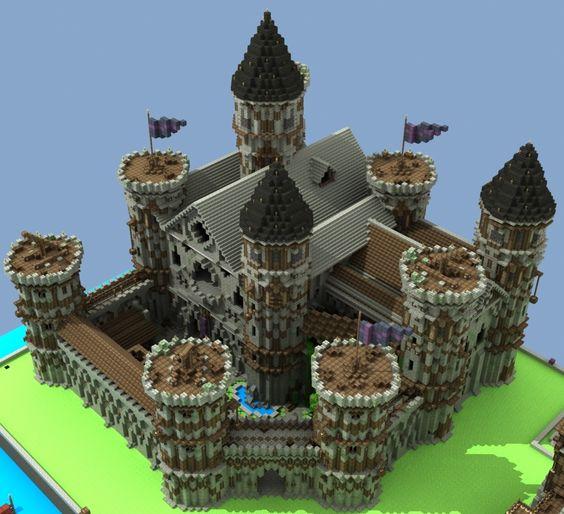 Замки в Minecraft - Всё для Майнкрафт