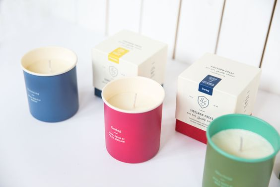 Sideshow Press Candle — The Dieline - Branding