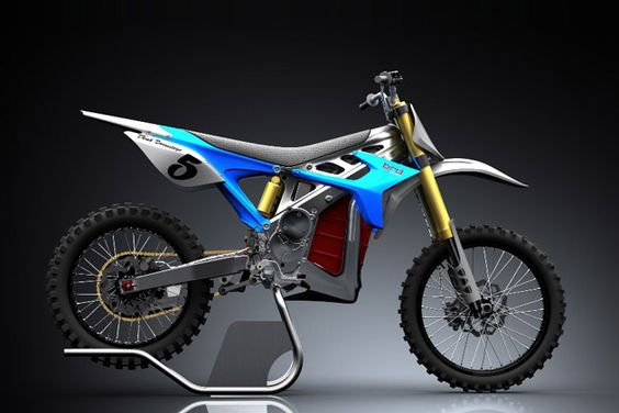 Electric Motocross...That's when going green gets gnarly