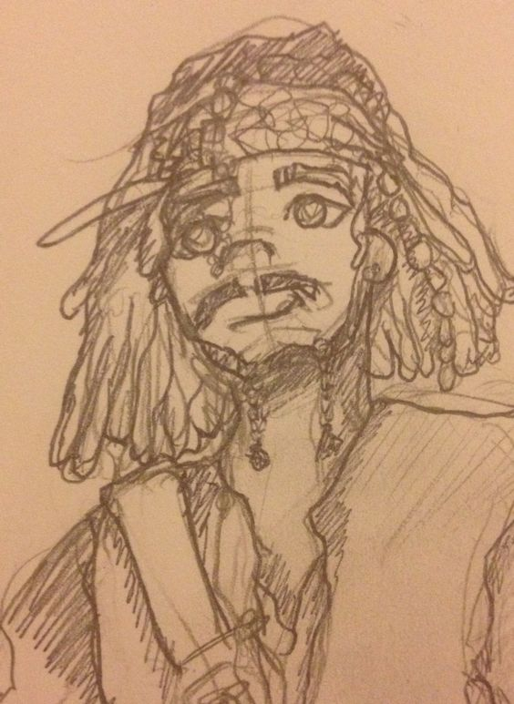Jack Sparrow cartoon