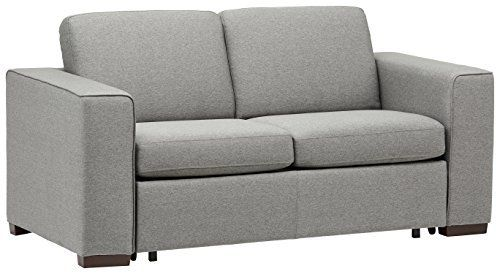 Amazon Com Rivet Elliot Easy Pull Modern Sofa Bed 71 W Grey Kitchen Dining Modern Sofa Bed Sofa Modern Sofa