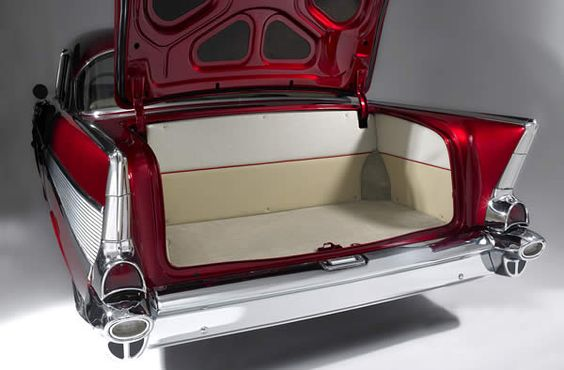 1957 Chevrolet Bel Air Trunk