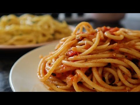 How To Make Pasta Recipe In Kannada With Red Sauce And White