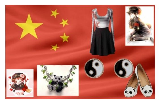 """China"" by s26427682 ❤ liked on Polyvore featuring Monsoon"