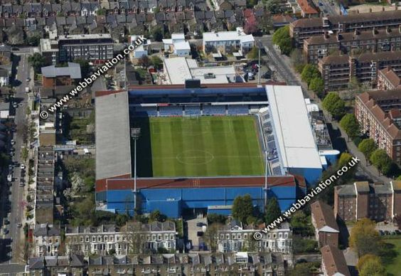 Loftus Road Stadium,London..Smallest stadium in the 2014-15 Premier League with a seating capacity of just under 19,000
