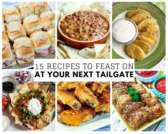 15 Recipes to Feast on at Your Next Tailgate | Just A Pinch