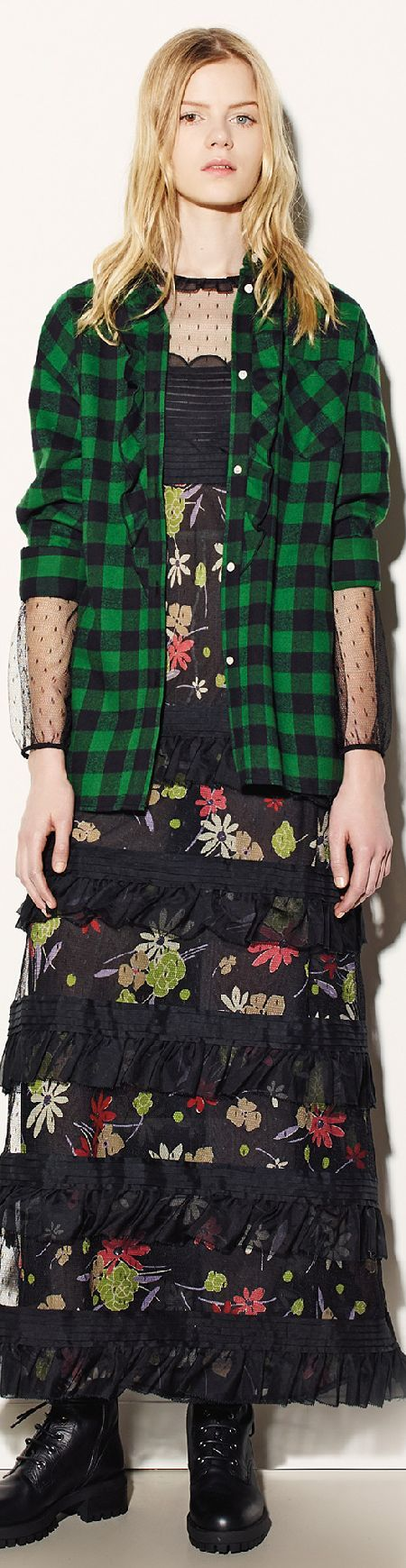 Red Valentino Fall 2015 RTW