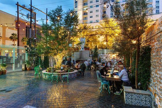 Park on Fremont - patio exterior