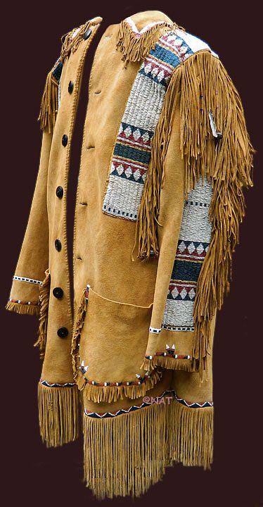 Plains Indian Jacket Mixed