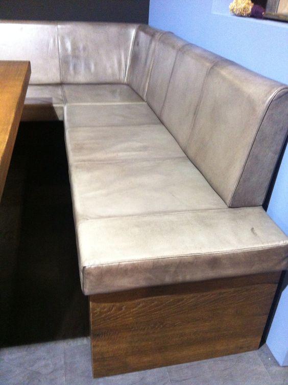 die vintage eckbank dublin jetzt mit neuer farbe des vintage lederbezugs messimpressionen mow
