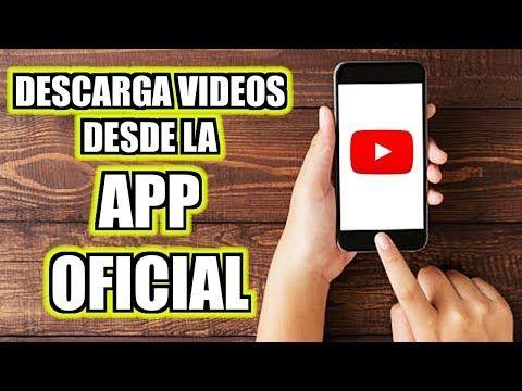 Cómo Descargar Videos De Youtube En El Celular Desde La App Oficial Wallas Da Silva Youtube Descargar Video Videos Videos De Youtube