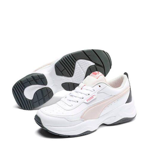 Puma Cilia Mode sneakers wit/roze/grijs - Roze grijs, Nike ...