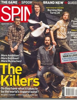 Spin: The Killers