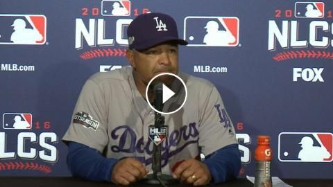 NLCS Gm1: Roberts on Maeda, decisions in loss to Cubs: Dodgers manager Dave Roberts discusses Kenta Maeda's performance and highlights some…