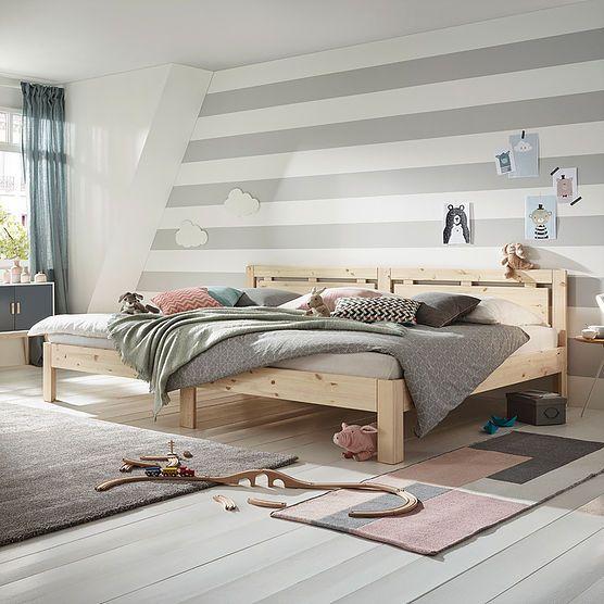 Ecolignum Vollholzmanufaktur Familienbett Familien Bett Haus Deko