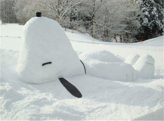 ほんわか癒される雪だるま傑作集【写真ギャラリー】 | roomie(ルーミー):
